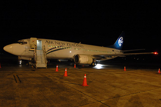 Air New Zealands flygplan