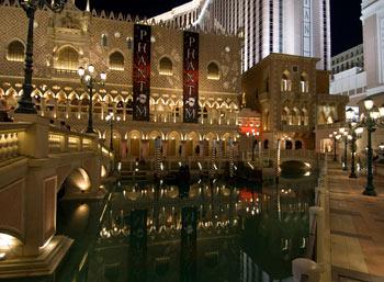 The Venetian Hotel Casino, Las Vegas
