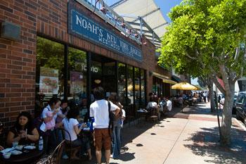 Frukost på Noah's, Los Angeles