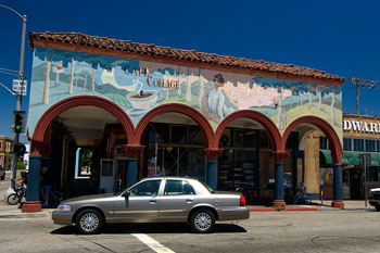 Cafe Collage, Venice beach, Los Angeles