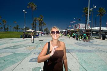 Anki, Venice beach, Los Angeles