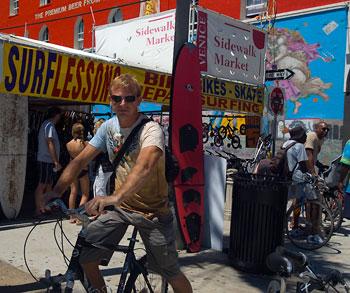 Lasse, Venice beach, Los Angeles