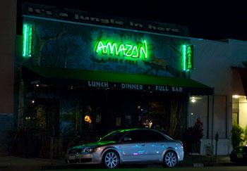 Amazon bar & grill, Los Angeles