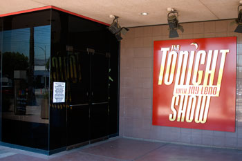 NBC, Tonight Show with Jay Leno skylt, Burbank, Los Angeles