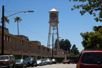 Warner Brothers vattentorn, Los Angeles