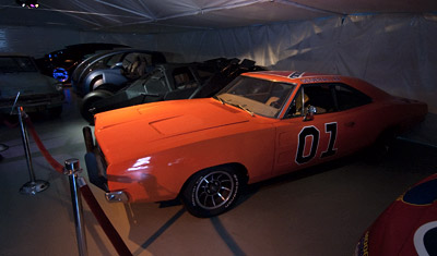 General Lee, Dukes of Hazzard, Warner Brothers VIP Tour, Los Angeles