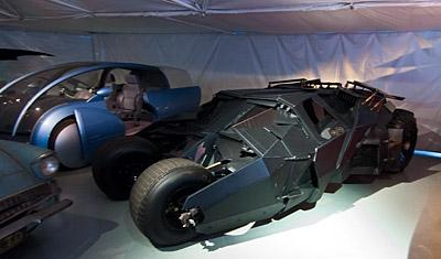 Tumbler Batmobile, Warner Brothers VIP Tour, Los Angeles