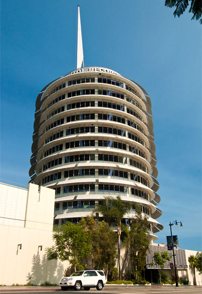 Capitol Records, Hollywood, Los Angeles