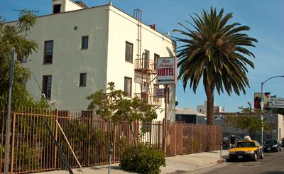 Las Palmas hotel, Hollywood, Los Angeles