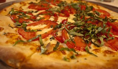 Pizza på Yankee Doodles, Santa Monica, Los Angeles