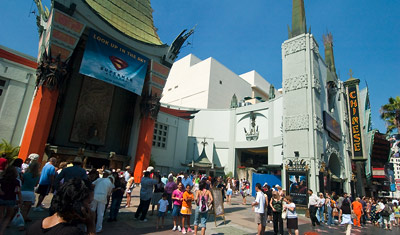 Mann's Chinese Theatre, Hollywood Boulevard, Los Angeles