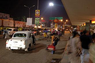 Tågstation, Delhi