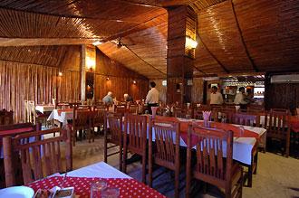 Lunchrestaurang en bit från Red Fort