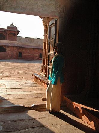 Anki på Fatehpur Sikir