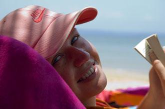 Anki på stranden, Koh Mak