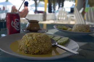 Lunch, Baan Koh Mak, Koh Mak