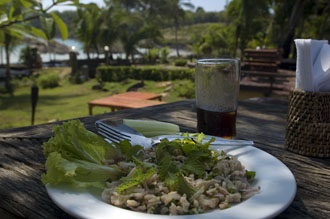 Lunch, The Beach Natural Resort