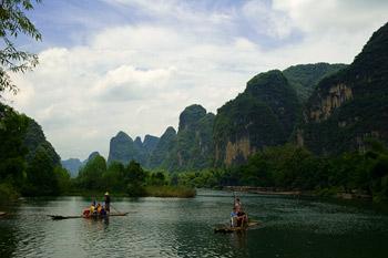 Flotte, Yulong floden