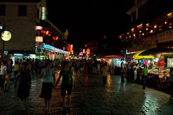 Shoppinggata, Yangshuo