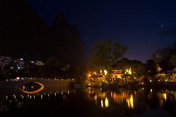 Yangshuo by night