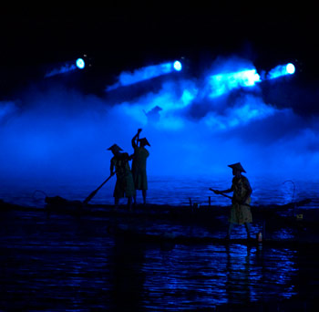 Impressions Liu Sanjie, The LiJang Natural Landscape Theatre, Yangshuo