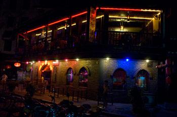 Restaurang, Cheng Zhong Road, Yangshuo