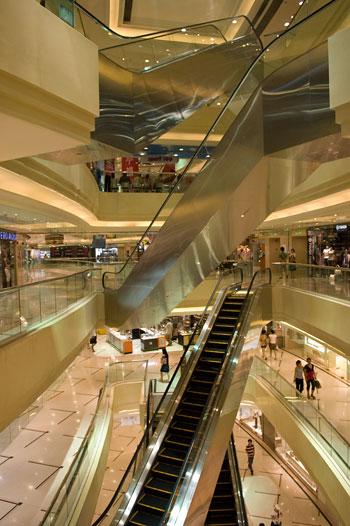 Times Square shoppingcentra, Shanghai