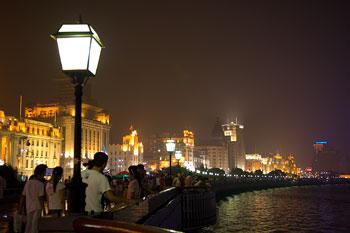The Bund, Shanghai by night