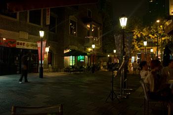 Restauranggata, Shanghai