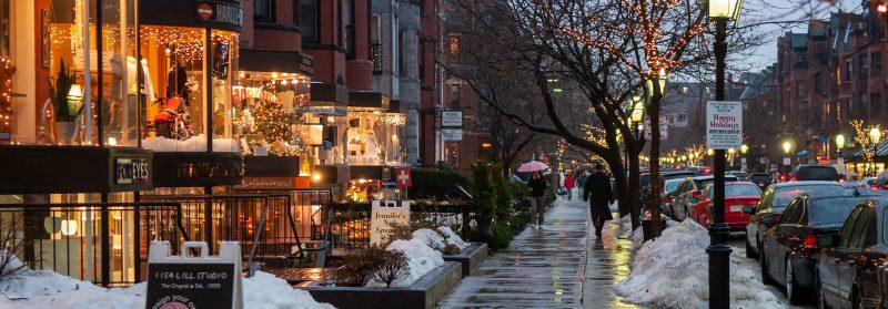 Newbury Street, Boston Massachusetts