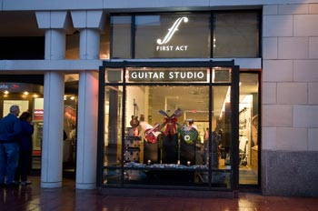 First Act Guitar Studio
