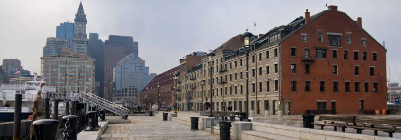 Boston hamn, Massachusetts