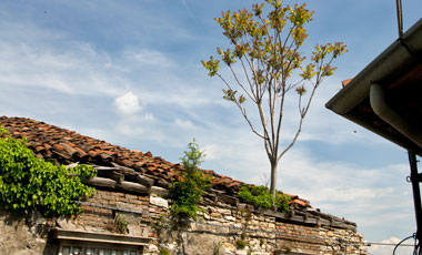 Uppe på Citta Alta, Bergamo