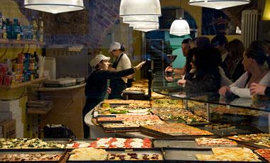 Pizzeria, Citta Alta, Bergamo