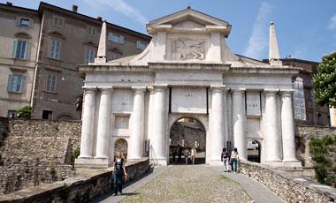 Porta San Giacomo, Citta Alta, Bergamo