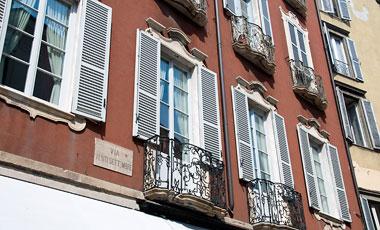 Balkonger, Citta bassa, Bergamo