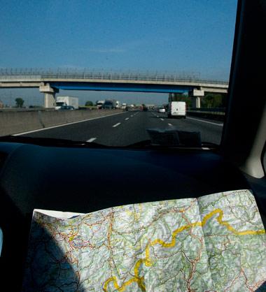 Motorväg från Bergamo