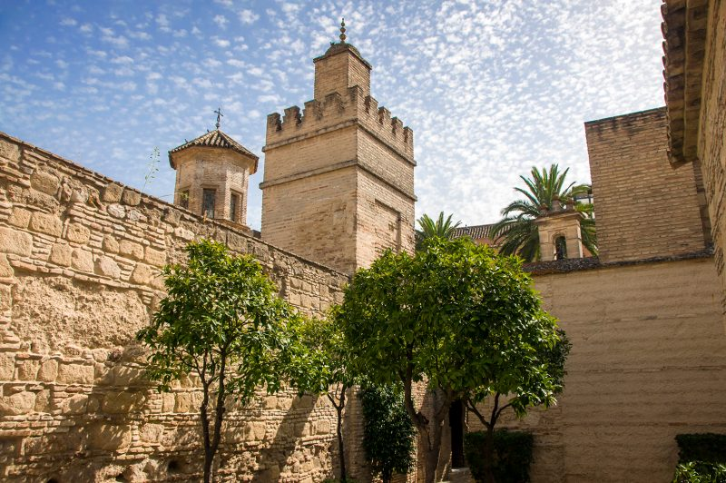 Innergård Alcazar, Jerez de la Frontera
