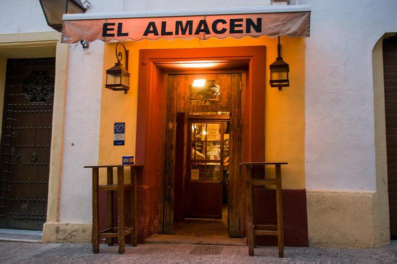 El Almacen restaurant, Jerez