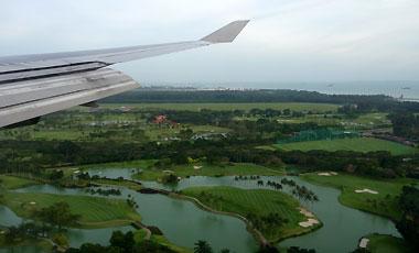 Landning Singapore
