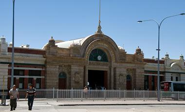 Tågstation i Fremantle
