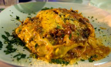 Lasagne, Positano restaurang, Northbridge, Perth