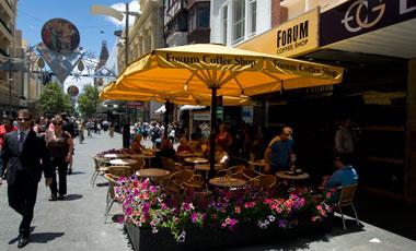 Forum Coffee Shop, Perth