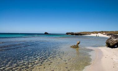 The Basin, Stranden vi la oss ner på en stund, Rottnest Island