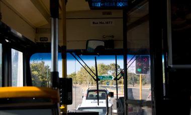 Bussresa in mot Perth