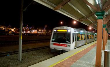 Fremantle tågstation, Perth
