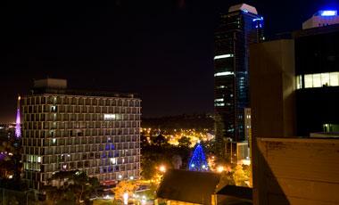 Utsikt, Kings Hotel, Perth