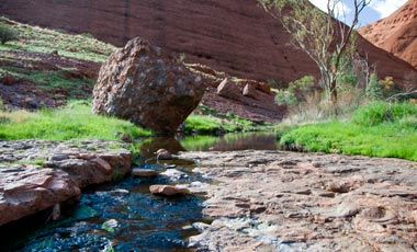 Vattendrag, Valley of the winds, The Olgas