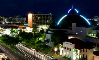 Utsikt från The Sebel Cairns Hotel, Cairns