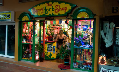 The happy herb shop